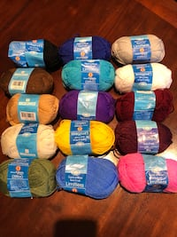 3$ per ball of yarn Dollard-des-Ormeaux, H9A 2J9