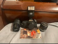 Canon T60 pro edition and lenses