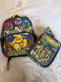 Backpack and lunch bag bundle Buzzards Bay, 02542