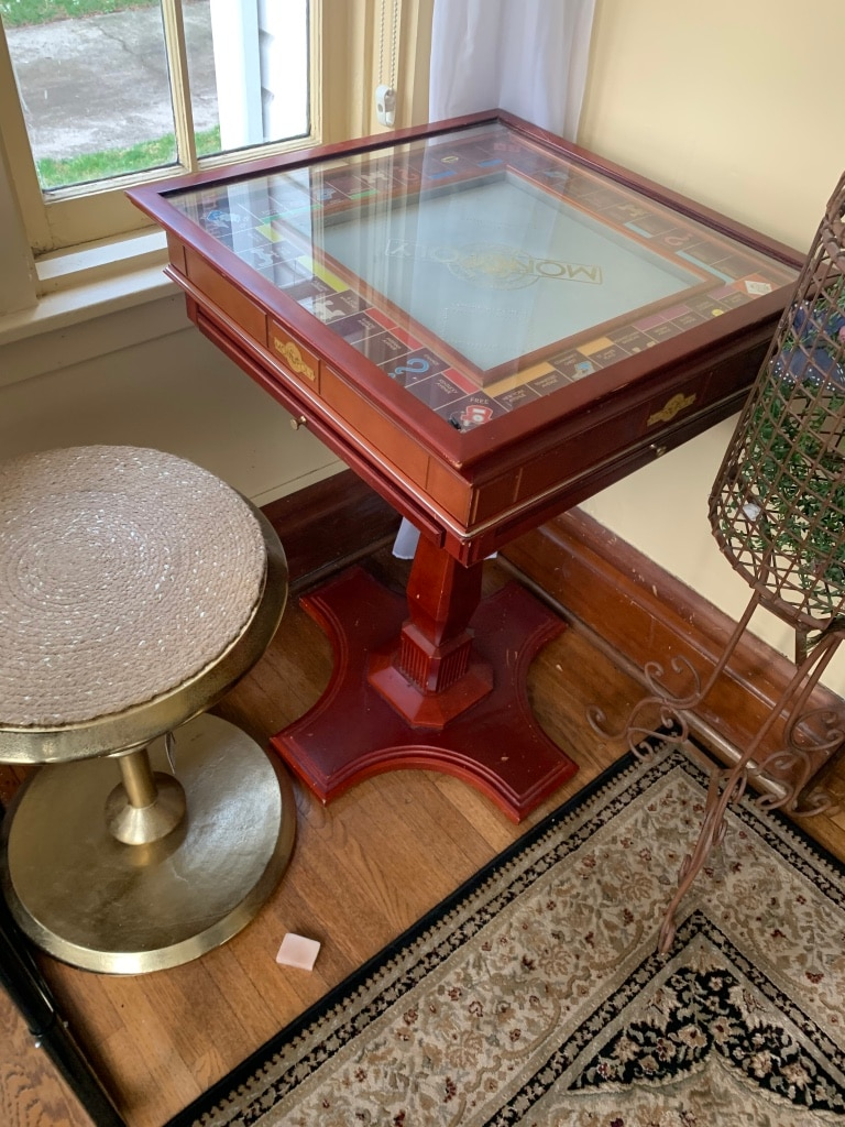 Photo Franklin mint collectors edition table