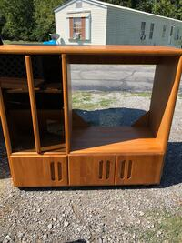 Hump day special !! PRICE REDUCED!! Solid wood media cabinet in excellent condition !! 49x54x20  Lafayette, 70506