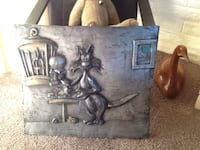 "Sylvester and Tweety Bird Picture Metal over Wood 23""x26"" Sacramento, 95831"