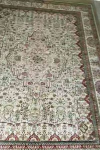 white, green, and brown floral area rug Live Oak, 78233