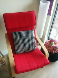 Reduced price: Ikea armchair in red Markham, L3P 1X5