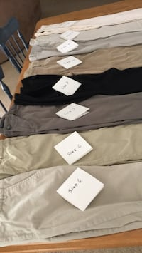 Ladies pants sizes 6-10, all in very good condition. Glassboro, 08028