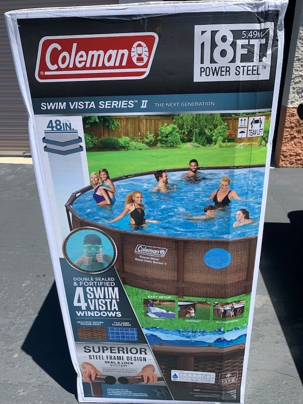 Coleman 18ft x 48in Pool fc70567a-d218-435f-9878-3faa414eafd6
