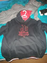 XL rds black and red pull over hoodie Red Deer, T4R 1V4