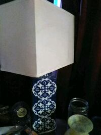 white and black table lamp Sun Valley, 89433