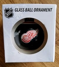 Detroit red wings glass ball ornament Fort Erie, L2A 6J1