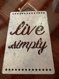 Galvanized Live Simply Wall Hanging Antioch, 94509