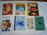 Cookbooks ($1/small + $2/large Kitchener, ON, Canada