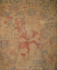 Antique Textile Tapestry of Moses