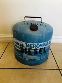 5 gallons diesel can: