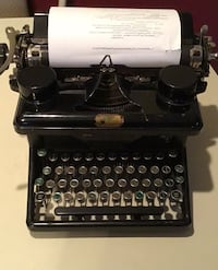 1933 Woodstock Typewriter  Spring Grove, 17362