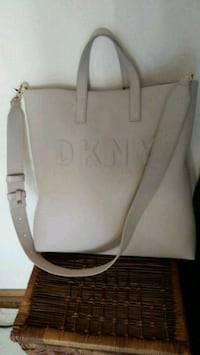 Authentic NWT DKNY leather tote Toronto