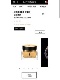 YSL Or Rouge Face Cream in Rich 50ml Toronto, M5V 0E8