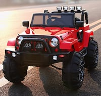 CHRISTMAS SALE ON AMAZING 4X4 KIDS RIDE ON JEEPS WITH REMOTE