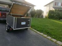 black and gray utility trailer Smithville, L0R 2A0
