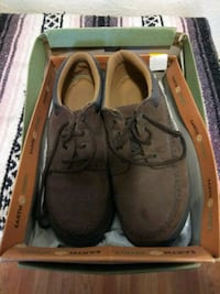 pair of brown boat shoes Roswell, 88203
