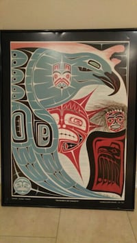 Eagles of honor framed poster.we are downsizing  Brampton, L6T 1S8