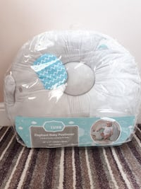 Elephant baby positioner pillow