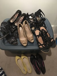 Womens Size 8 shoes lot Langley, V2Y 0A4