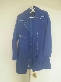 blue zip-up coat Ottawa, K2E 6K6