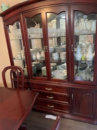 Table and hutch