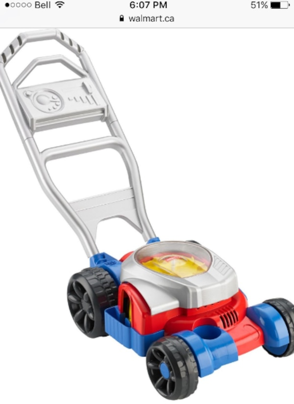 Fisher price lawn mower