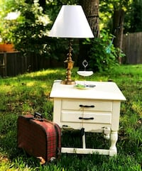 White large night stand  Rockville, 20852