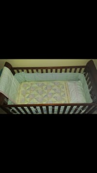 Delta crib with Kolcraft Mattress Indian Head, 20640