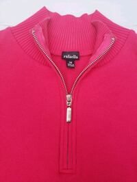 rafaella Hot Pink Sport Style Zip-up Asheville