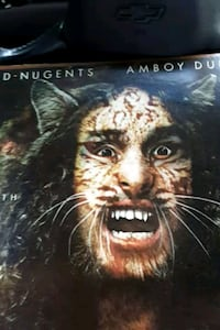 """Ted Nugent Amboy Dukes Tooth Fang and Claw"""" vinyl  La Plata, 20646"""