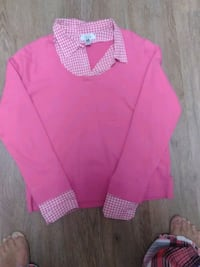 IZOD Pink sweater with shirt Germantown, 20876