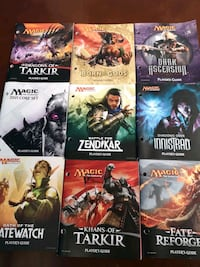 Magic the Gathering play books for sale  London, N6E 2Y8