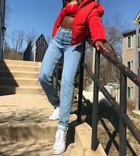 American apparel  mom jeans  size 26 Baltimore, 21229