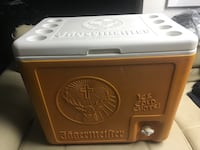 Jagermeister cooler pours cold shots