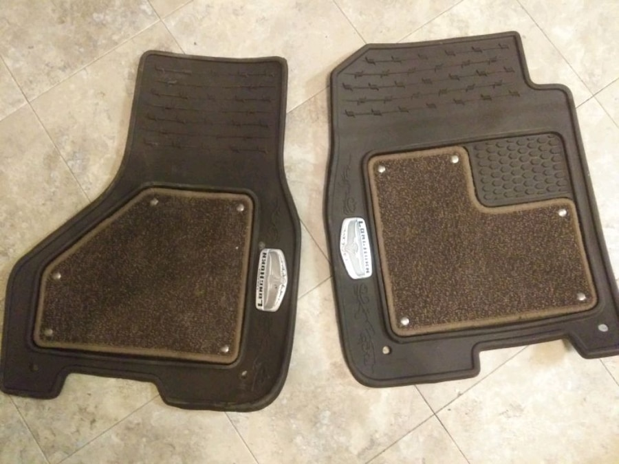 Photo 2020 Dodge Ram Lone Star edition front factory floor mats.
