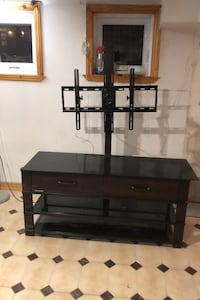 TV stand with support