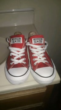 pair of red Converse All-Star low-tops Allentown, 18102