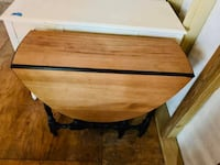 Antique gate leg drop leaf solid wood table project piece Rockville, 20855