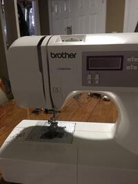 Brother sewing machine , has needle threader ,free arm,appliqué , patchwork and quilt stitching , decorative stitches, buttonhole stitch  excellent condition Harpers Ferry, 25425