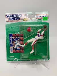 Vintage NFL Buffalo Bills Quinn Early STARTING LINEUP ACTION FIGURES (1) [Brand New] Washington, 20016
