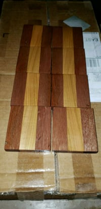 Mahogany maple coasters Falls Church, 22044