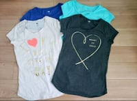 OLD NAVY - girls t-shirts & short ($7 each or $25 for the lot) Ottawa, K2S