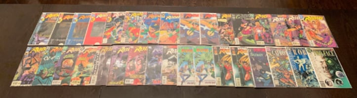 Batman comic book collection 190 comics - priced to sell!