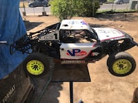 Rtr losi 5t 1/5 scale 30cc motor ready to race upgraded steering servo Bakersfield, 93307