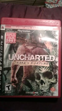 Sony PS3 Uncharted Drake's Fortune case 778 km