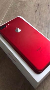 iPhone RED  7 plus 256 GB MINT CONDITION
