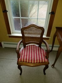 Wickerback chair. New Hartford, 06057